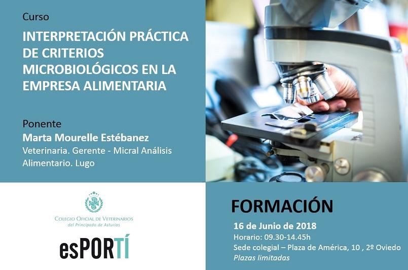 INTERPRETACIÓN PRÁCTICA DE CRITERIOS MICROBIOLÓGICOS EN INDUSTRIA ALIMENTARIA