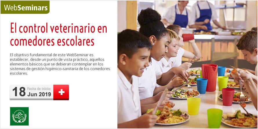El control veterinario en comedores escolares - Colegio Oficial de ...